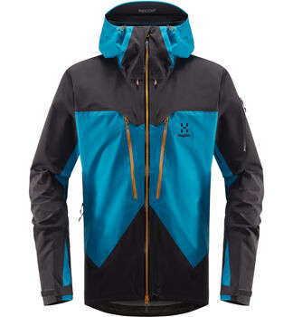 Spitz Jacket Men, Mosaic blue/slate