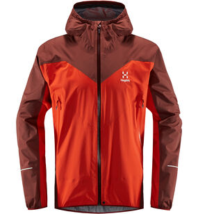 L.I.M Comp Jacket Men, Habanero/maroon red