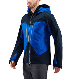 Spitz Jacket Men, Storm blue/tarn blue