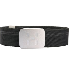 Stretch Webbing Belt, True Black