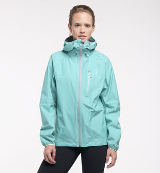 L.I.M Jacket Women, Glacier green
