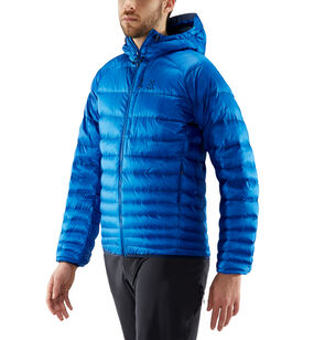 Essens Down Hood Men, Storm blue/tarn blue