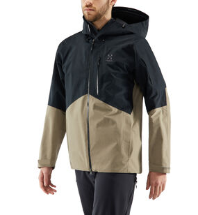 Nengal Jacket Men, True Black/Dune