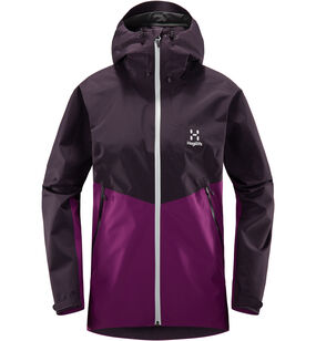 Merak Jacket Women, Lilac/acai berry