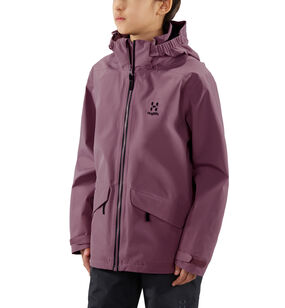 Mila Jacket Junior, Purple milk