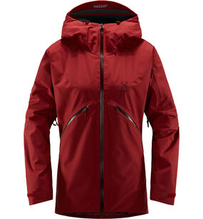 Khione Jacket Women, Brick red