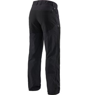 Mid Flex Pant Men, True Black Solid Long