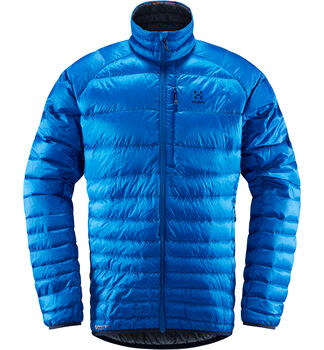 Essens Down Jacket Men, Storm blue/dense blue