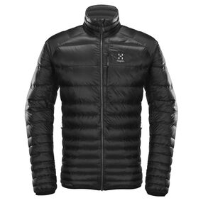 Essens Down Jacket Men, True Black/Magnetite