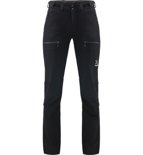 Breccia Pant Women, True Black/Magnetite Short