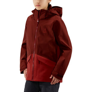 Mila Jacket Junior, Maroon red/brick red