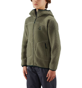 Pile Hood Junior, Agave green