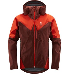 L.I.M Touring PROOF Jacket Men, Maroon red/habanero