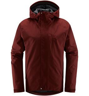 Stratus Jacket Men, Maroon red