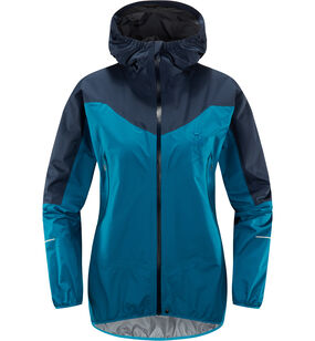 L.I.M Comp Jacket Women, Mosaic blue/tarn blue