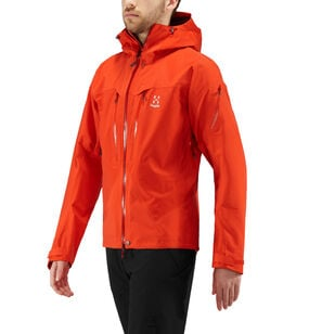 Spitz Jacket Men, Habanero