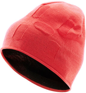 H Beanie, Hibiscus red