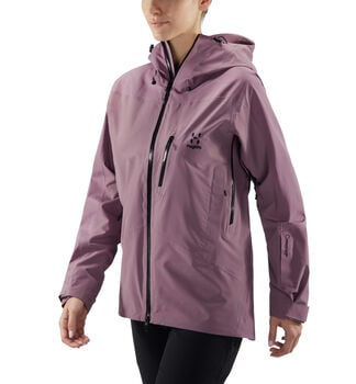 Niva Jacket Women, Purple milk