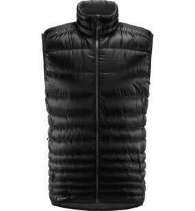Essens Down Vest Men, True Black/Magnetite