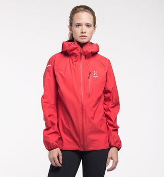 L.I.M Jacket Women, Hibiscus red
