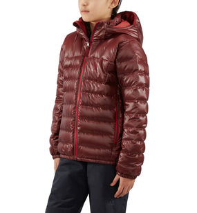 Bivvy Reversible Hood Junior, Maroon red/brick red