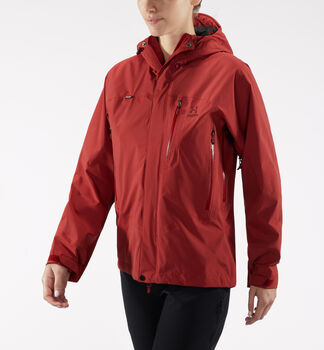 Astral Jacket Women, Brick red