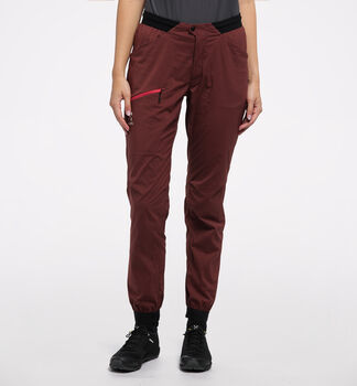 L.I.M Fuse Pant Women, Maroon red