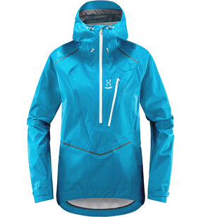 L.I.M Mtn Proof Anorak Women, Mosaic blue