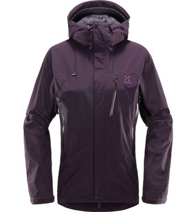 Astral Jacket Women, Acai Berry