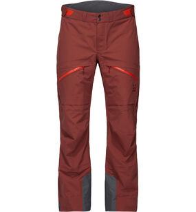 Nengal 3L PROOF Pant Men, Maroon red/habanero