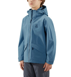 Mila Jacket Junior, Silver blue