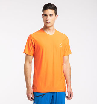L.I.M Tech Tee Men, Flame Orange