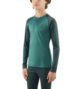 Actives Blend Roundneck Junior, Mineral/willow green