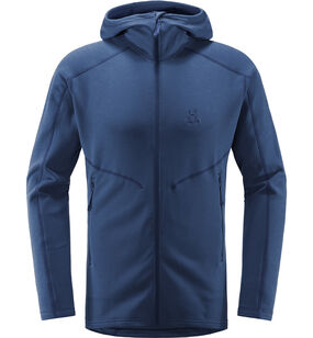 Heron Hood Men, Tarn Blue