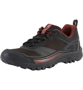 Haglöfs Gram Trail Men, True black/maroon red