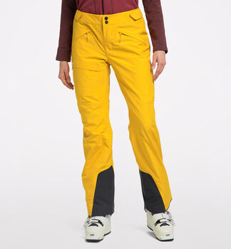 Lumi Form Pant Women, Pumpkin Yellow