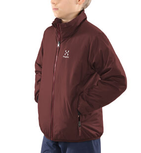 Barrier Jacket Junior, Maroon red/brick red