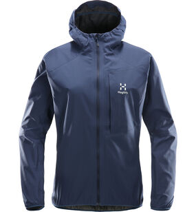 L.I.M Proof Jacket Women, Tarn Blue