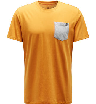 Mirth Tee Men, Desert yellow/grey melange