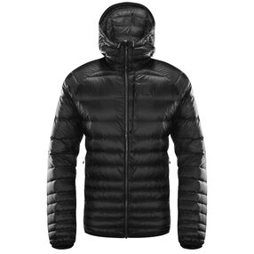 Essens Down Hood Men, True Black/Magnetite