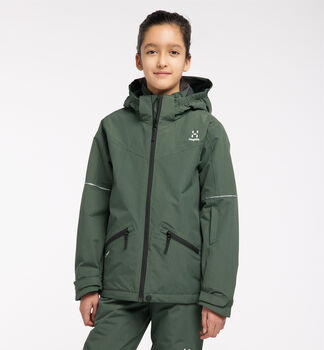 Niva Insulated Jacket Junior, Fjell Green