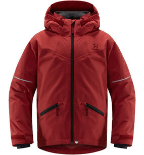 Niva Insulated Jacket Junior, Brick red