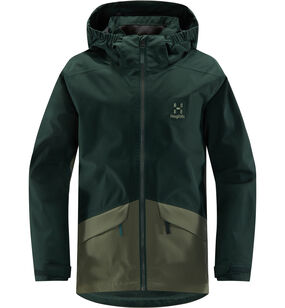 Mila Jacket Junior, Mineral/agave green