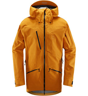 Nengal 3L PROOF Parka Men, Desert Yellow/True Black