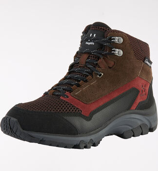 Haglöfs Skuta Mid Proof Eco Women, Maroon red/barque