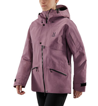 Khione 3L PROOF Jacket Women, Purple milk