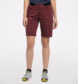 L.I.M Fuse Shorts Women, Maroon red