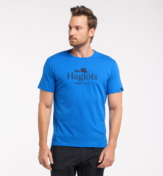 Camp Tee Men, Storm blue/tarn blue