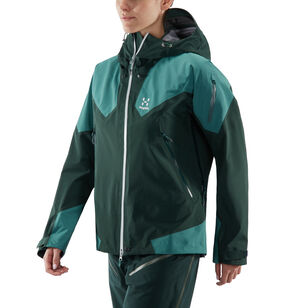 Roc Spire Jacket Women, Mineral/willow green