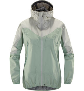 L.I.M Comp Jacket Women, Blossom green/haze